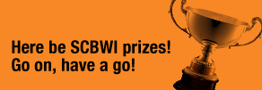 Here be SCBWI Prizes! Go on, have a go!