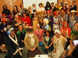 Fantastic costumes on show at last years SCBWI BI Conference